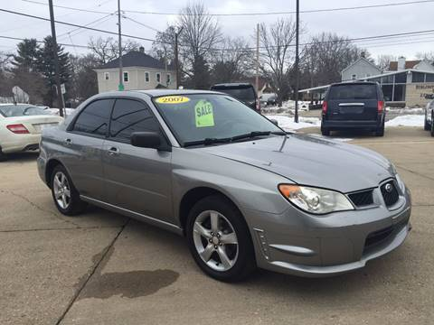2007 Subaru Impreza for sale at Auto Gallery LLC in Burlington WI