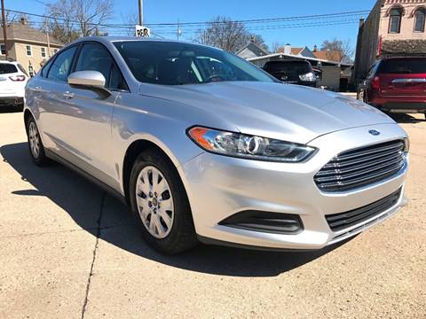 2014 Ford Fusion for sale at Auto Gallery LLC in Burlington WI