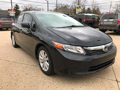 2012 Honda Civic for sale at Auto Gallery LLC in Burlington WI