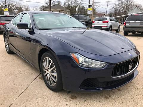 2014 Maserati Ghibli for sale at Auto Gallery LLC in Burlington WI