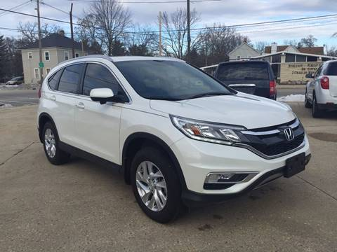2015 Honda CR-V for sale at Auto Gallery LLC in Burlington WI