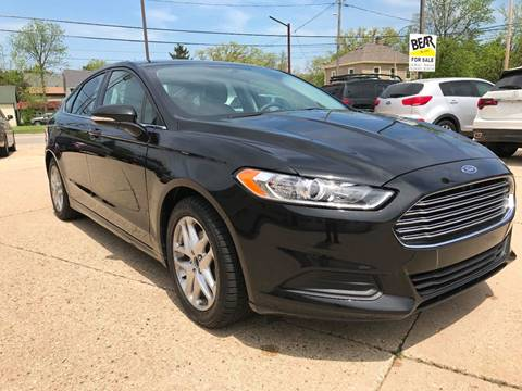 2015 Ford Fusion for sale at Auto Gallery LLC in Burlington WI