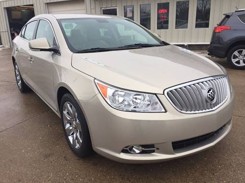 2012 Buick LaCrosse for sale at Auto Gallery LLC in Burlington WI