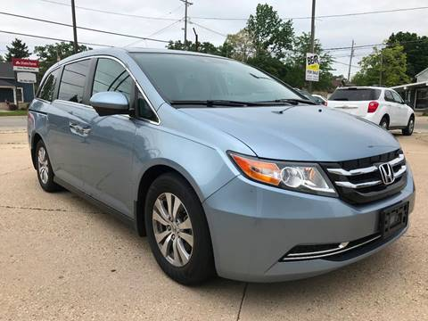 2014 Honda Odyssey for sale at Auto Gallery LLC in Burlington WI