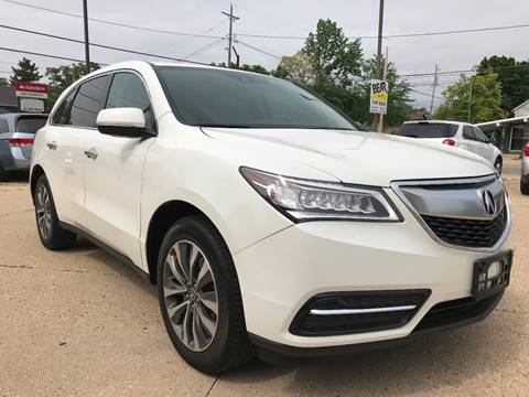 2016 Acura MDX for sale at Auto Gallery LLC in Burlington WI