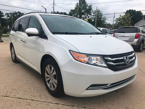 2016 Honda Odyssey for sale at Auto Gallery LLC in Burlington WI