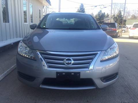 2014 Nissan Sentra for sale at Auto Gallery LLC in Burlington WI