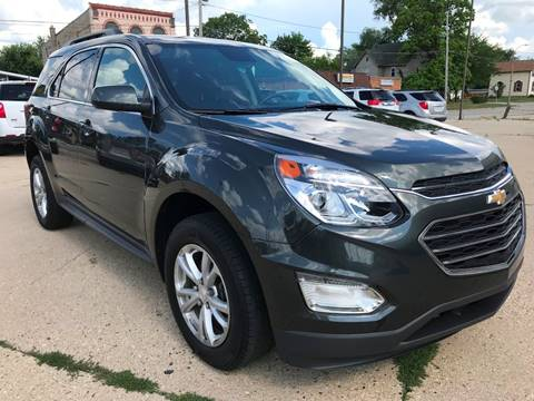 2017 Chevrolet Equinox for sale at Auto Gallery LLC in Burlington WI