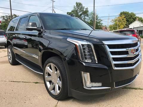 2018 Cadillac Escalade ESV for sale at Auto Gallery LLC in Burlington WI