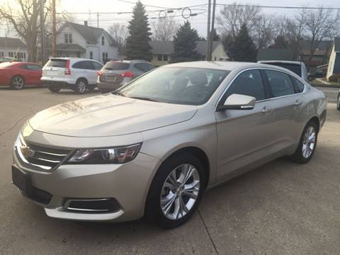 2015 Chevrolet Impala for sale at Auto Gallery LLC in Burlington WI