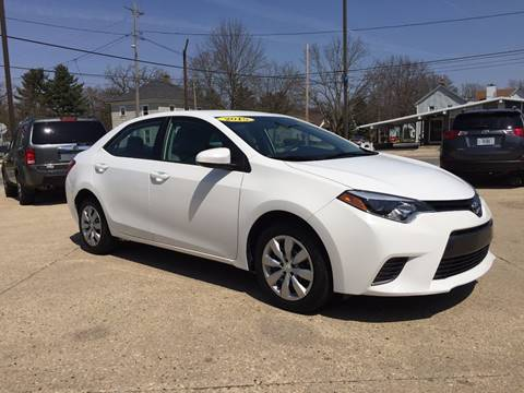 2015 Toyota Corolla for sale at Auto Gallery LLC in Burlington WI