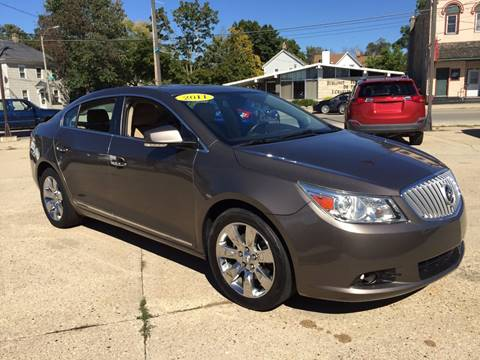 2011 Buick LaCrosse for sale at Auto Gallery LLC in Burlington WI