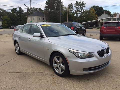 2008 BMW 5 Series for sale at Auto Gallery LLC in Burlington WI