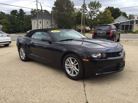 2015 Chevrolet Camaro for sale at Auto Gallery LLC in Burlington WI