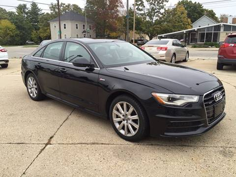 2013 Audi A6 for sale at Auto Gallery LLC in Burlington WI