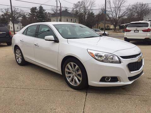 2016 Chevrolet Malibu Limited for sale at Auto Gallery LLC in Burlington WI