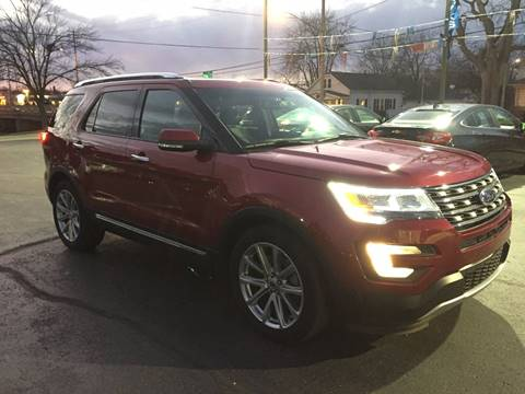 2016 Ford Explorer for sale at Auto Gallery LLC in Burlington WI