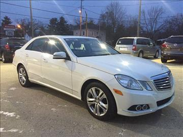 2010 Mercedes-Benz E-Class for sale at Auto Gallery LLC in Burlington WI