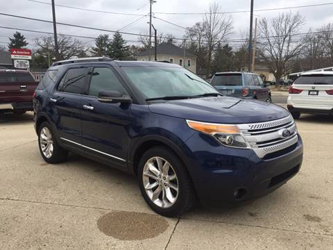2012 Ford Explorer for sale at Auto Gallery LLC in Burlington WI