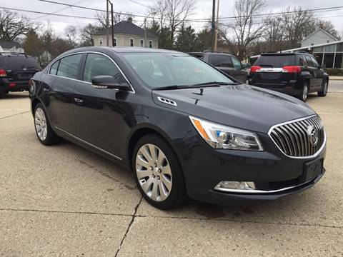 2015 Buick LaCrosse for sale at Auto Gallery LLC in Burlington WI
