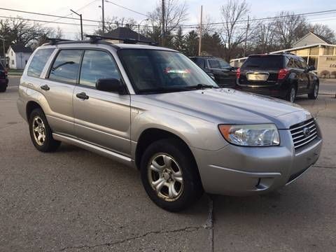 2006 Subaru Forester for sale at Auto Gallery LLC in Burlington WI