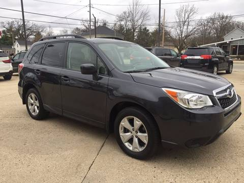 2015 Subaru Forester for sale at Auto Gallery LLC in Burlington WI