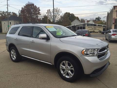 2012 Dodge Durango for sale at Auto Gallery LLC in Burlington WI