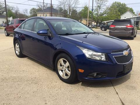 2012 Chevrolet Cruze for sale at Auto Gallery LLC in Burlington WI