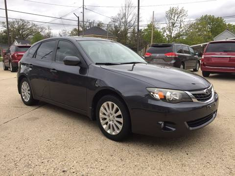2009 Subaru Impreza for sale at Auto Gallery LLC in Burlington WI
