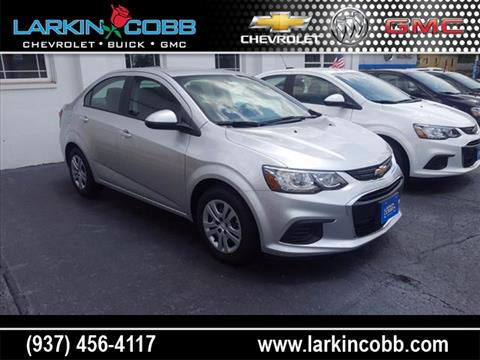 2017 Chevrolet Sonic for sale in Eaton, OH