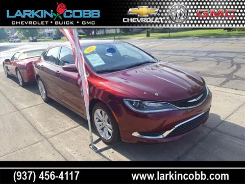 2015 Chrysler 200 for sale in Eaton, OH