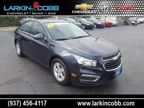 2016 Chevrolet Cruze Limited for sale in Eaton, OH