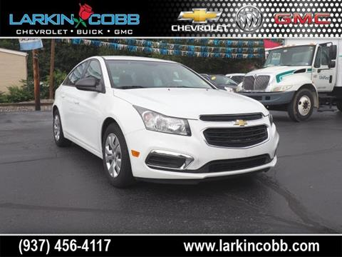 2015 Chevrolet Cruze for sale in Eaton, OH