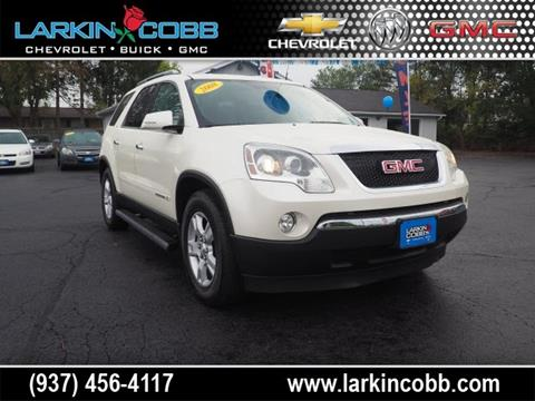 2008 GMC Acadia for sale in Eaton OH