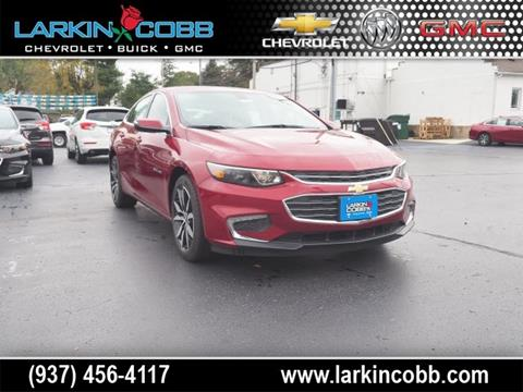2018 Chevrolet Malibu for sale in Eaton OH