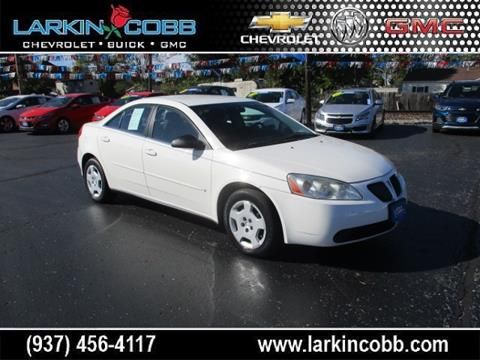 2007 Pontiac G6 for sale in Eaton, OH