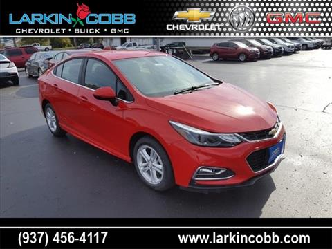 2017 Chevrolet Cruze for sale in Eaton OH