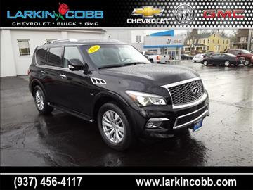 2016 Infiniti QX80 for sale in Eaton, OH