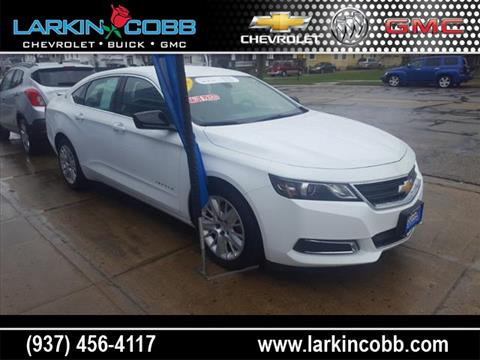 2016 Chevrolet Impala for sale in Eaton, OH