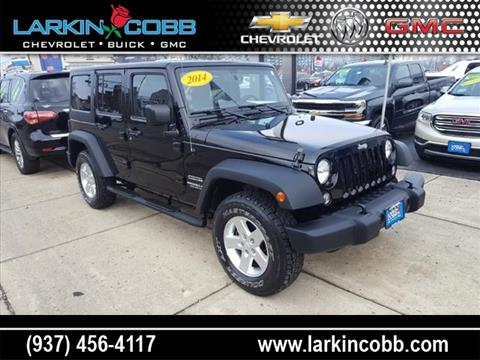 2014 Jeep Wrangler Unlimited for sale in Eaton OH