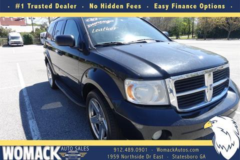 Womack Auto Sales >> 2008 Dodge Durango For Sale In Statesboro Ga