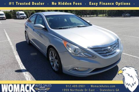 2012 Hyundai Sonata for sale at Womack Auto Sales in Statesboro GA