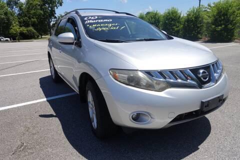 2009 Nissan Murano for sale at Womack Auto Sales in Statesboro GA