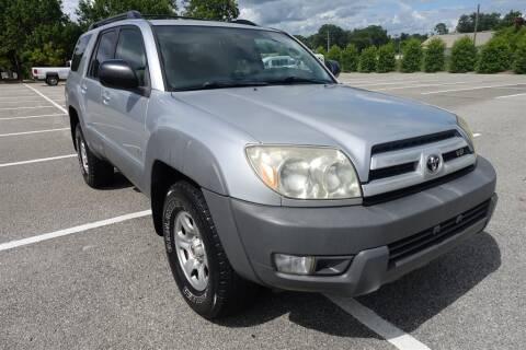 2003 Toyota 4Runner for sale at Womack Auto Sales in Statesboro GA