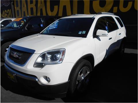 2012 GMC Acadia for sale in Stockton, CA
