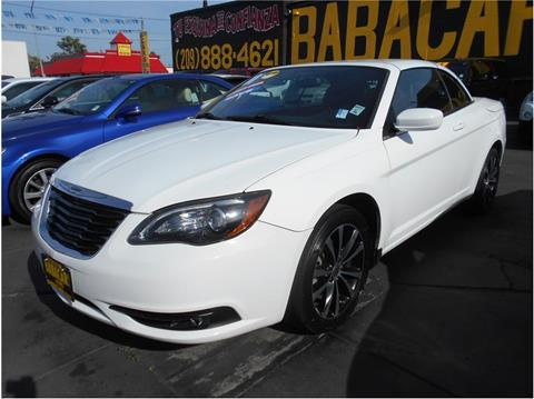 2011 Chrysler 200 Convertible for sale in Stockton, CA