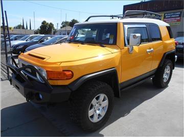 2007 Toyota FJ Cruiser for sale in Stockton, CA