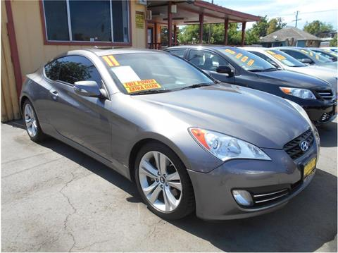 2011 Hyundai Genesis Coupe for sale in Stockton, CA