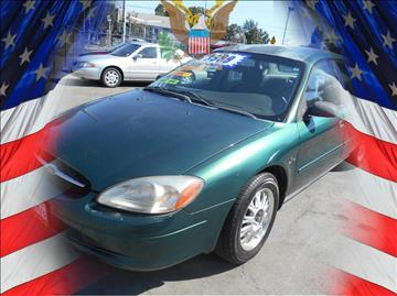 2000 Ford Taurus for sale in Stockton, CA