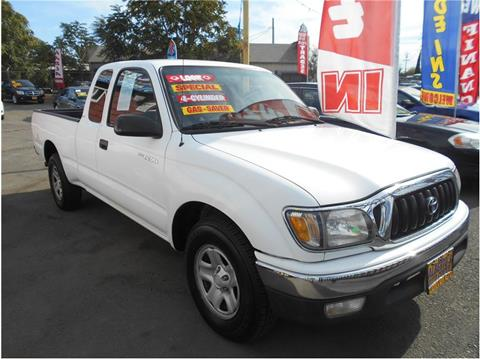 2001 Toyota Tacoma for sale in Stockton, CA